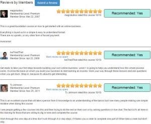 wealthy affiliate members reviews