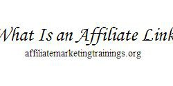 what is an affiliate link