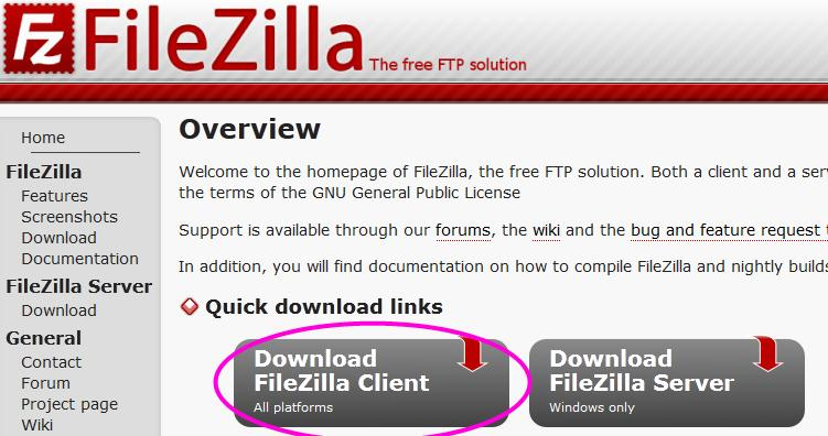 download file zilla client