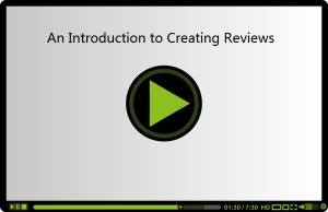 Introduction to Creating Reviews